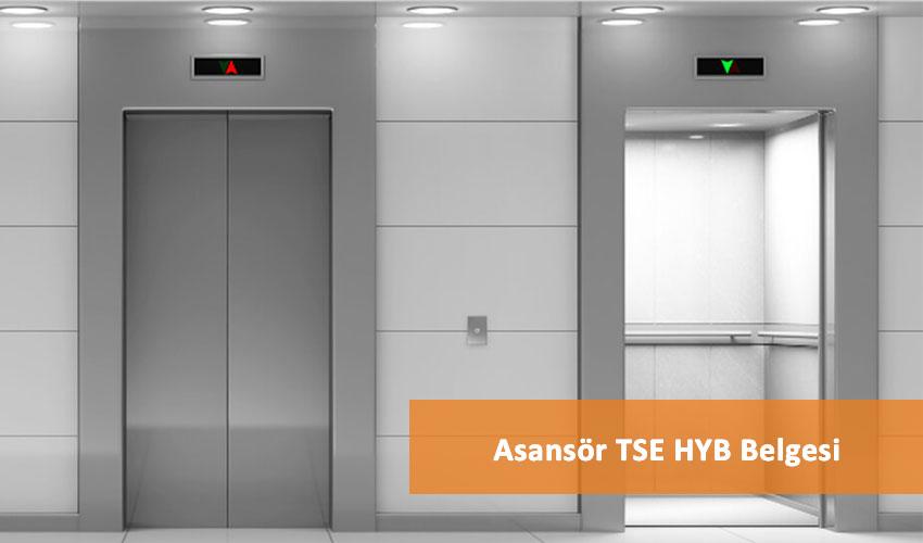 Asansör TSE HYB Belgesi - KAYER Danışmanlık